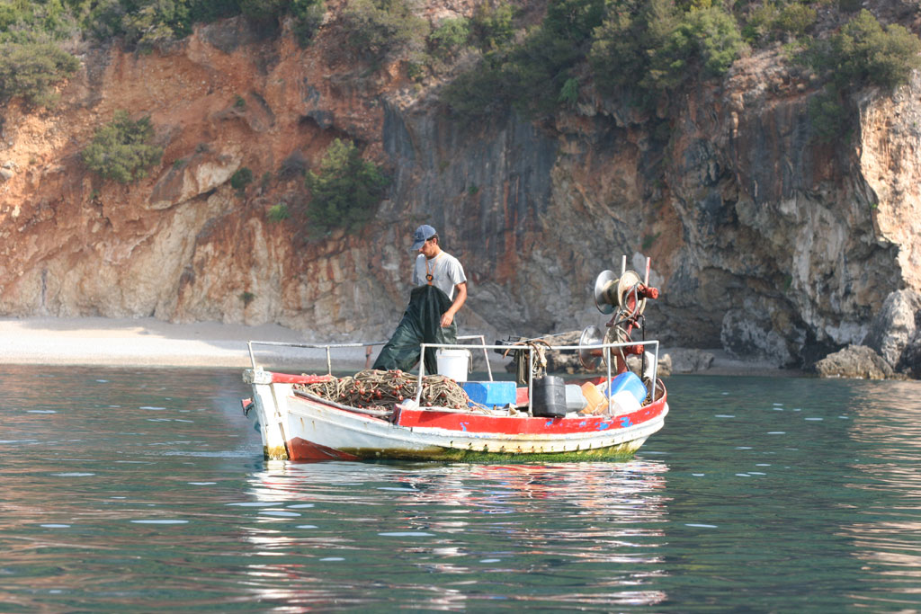 parga fishing