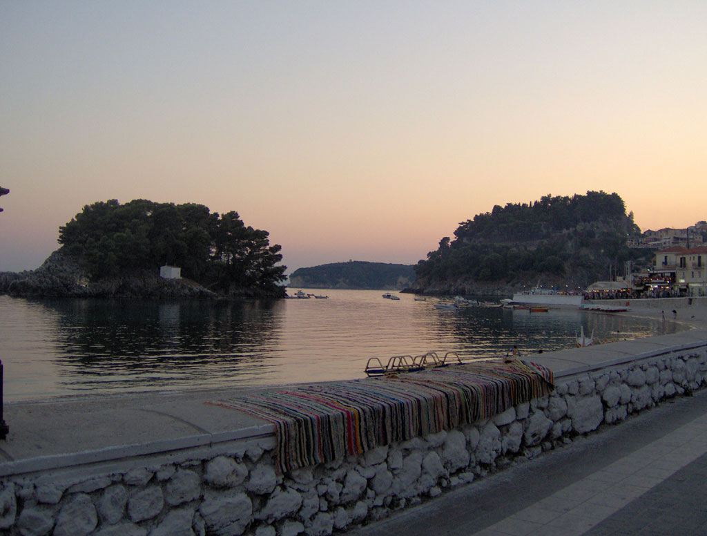 parga sunrise